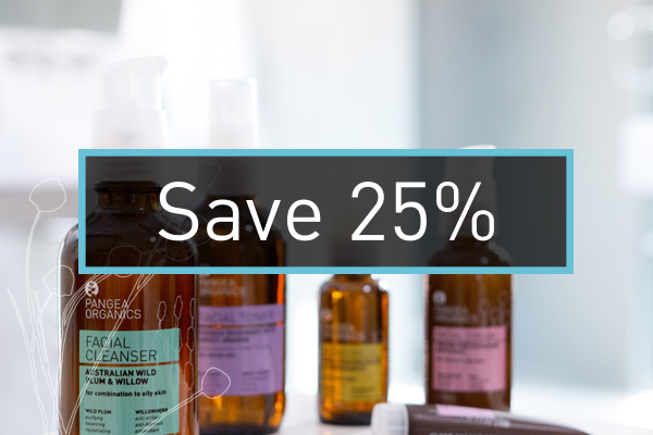 Shop and Save 25_ at Pangea Organics