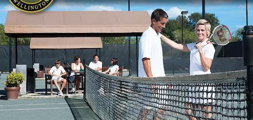 Tennis is another fantastic amenity at The Wanderers Club.