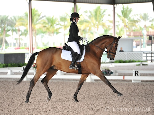 Dressage Focus:Annie Peavy and Ozzy Cooper. Photo by Lindsay Y. McCall