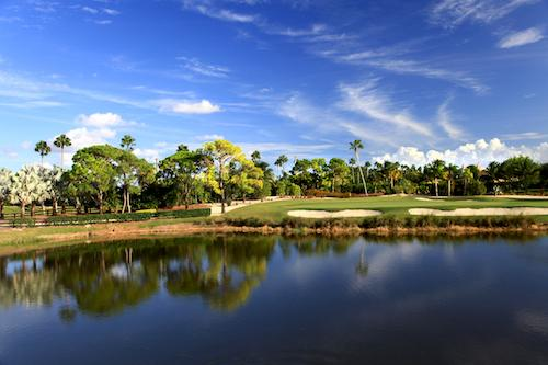 The stunning golf course at The Wanderers Club.