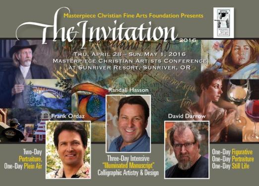 2016 Masterpiece Christian Artist Conference header