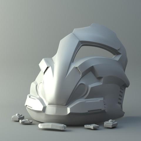 Telecharger Fichier Stl Masque Arcwar Star Wars Modele A Imprimer En 3d Cults