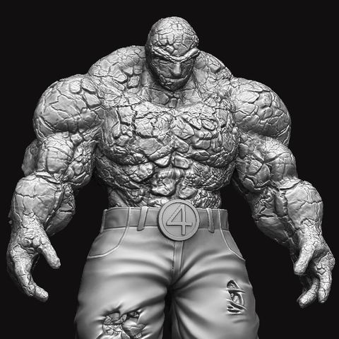 Download 3d Printer Designs The Thing Fantastic Four