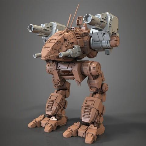 mechwarrior catapult assembly model