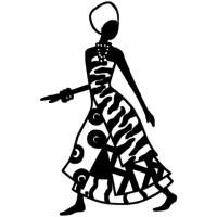 3D print model African woman wall art  Cults