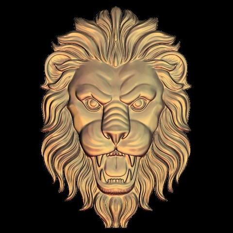 fierce lion frame