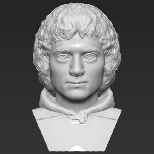frodo baggins le seigneur des anneaux le buste est pret pour l impression 3d