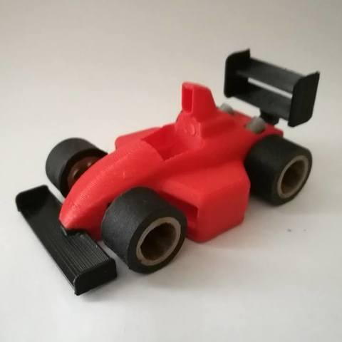 f1 toy art racecar