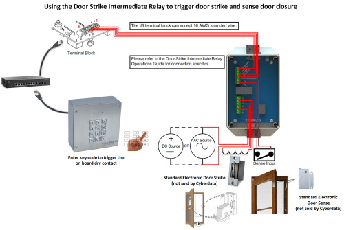 small resolution of we highly recommend that inductive load and high current devices use our door strike intermediate relay module product cd 011269