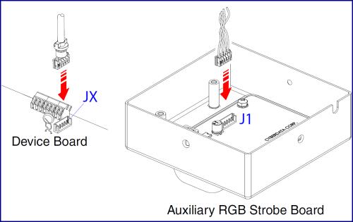 small resolution of intercom to sip rgb strobe connections connections remote switch connection
