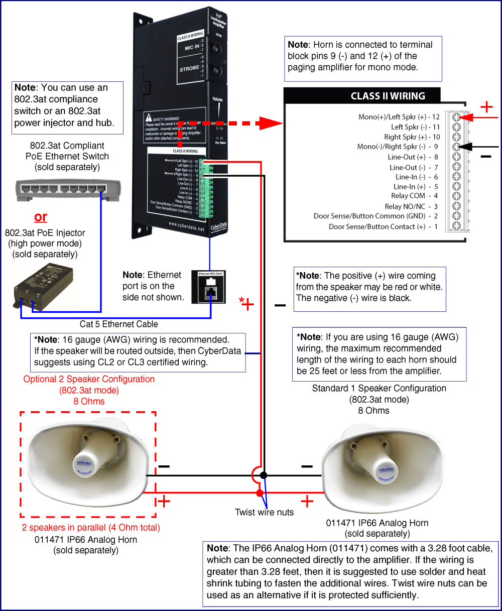 medium resolution of high power mode two speakers
