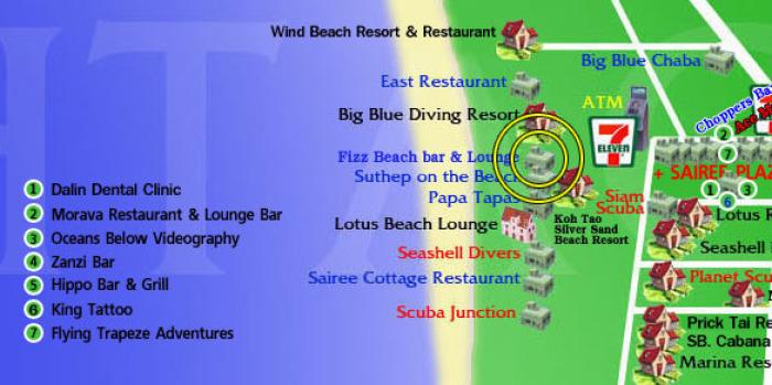 Toter am Sairee Strand ist Tourist aus Moldawien, Thailand