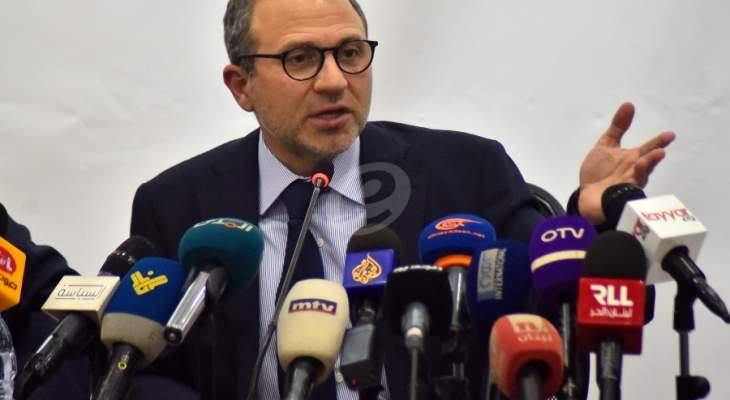 Bassil: Die Sanktionspolitik wird sehr schädlich sein und dazu führen, dass der Libanon gegen seinen Willen aus Europa und dem Westen vertrieben wird