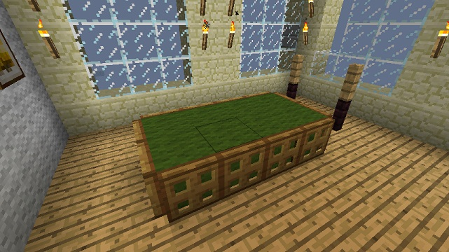 Pdf plans how to build a pool table in minecraft download for How to build a billiard table