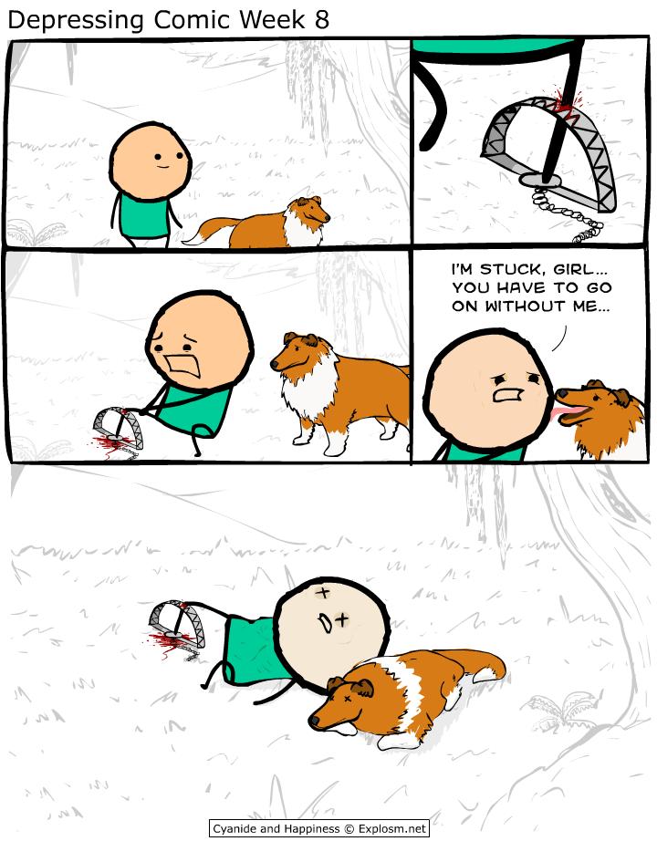comics tagged depressing comic