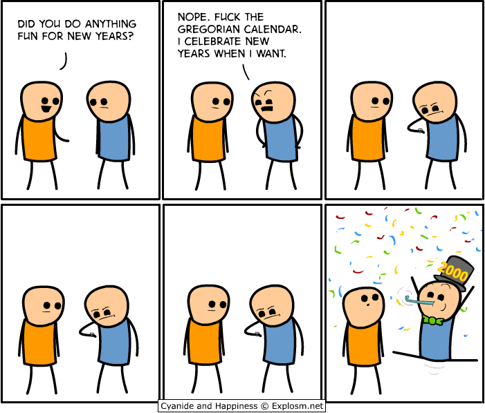 Cyanide & Happiness: