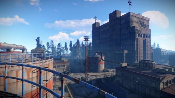 Skyscraper Is Rust Game - Year of Clean Water