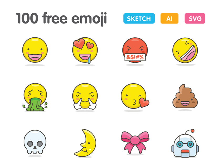 100 free and cute