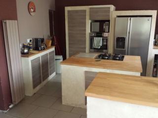 meuble cuisine pour plaque et four
