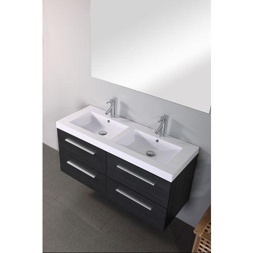 meuble double vasque cascade 140cm