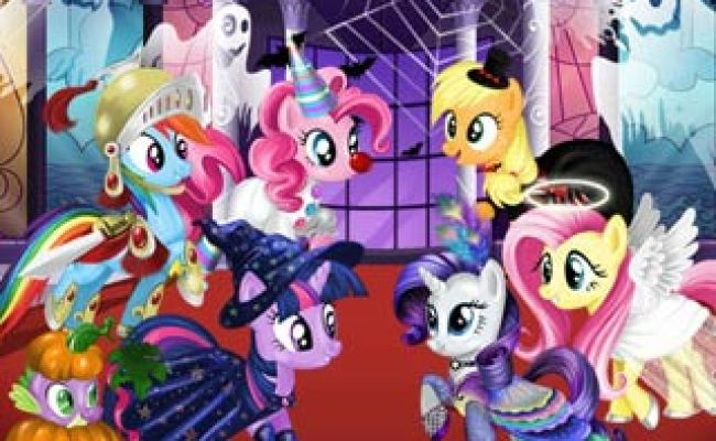 Play Free My Little Pony Halloween Party