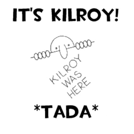 Kilroy Was Here (Team Fortress 2 > Sprays > Other/Misc