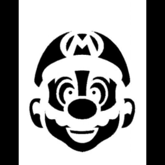 Mario Stencil (Counter-Strike: Source > Sprays > Stencil