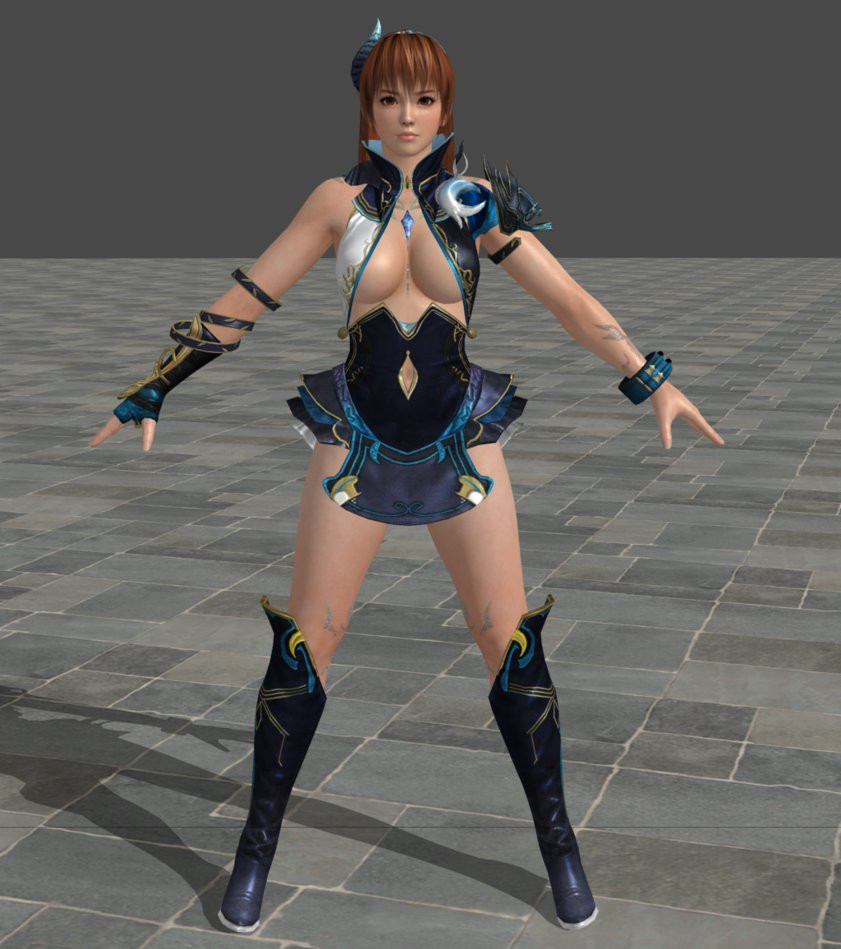 Kasumi From Dead Or Alive Super Smash Bros Wii U Concepts