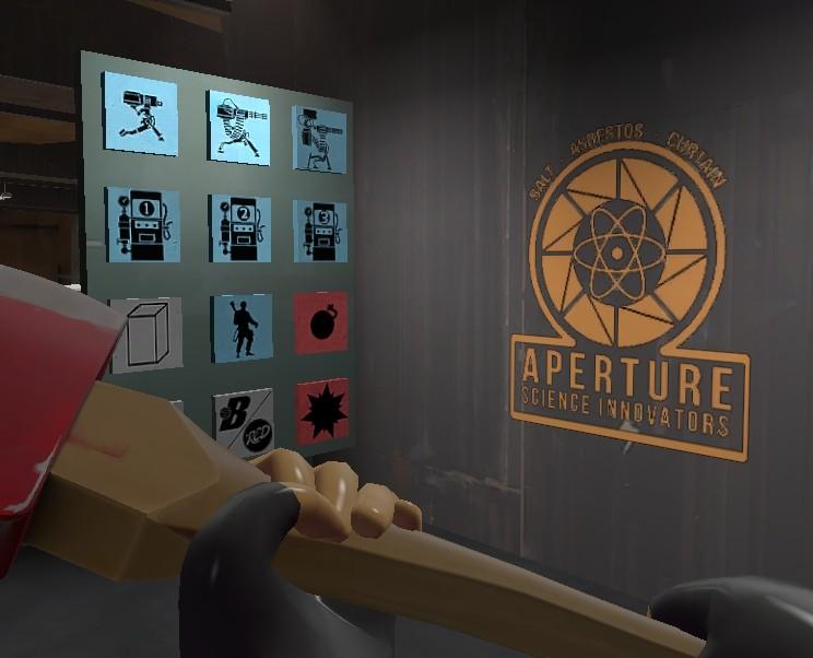 Aperture Science Innovators  Team Fortress 2 Sprays