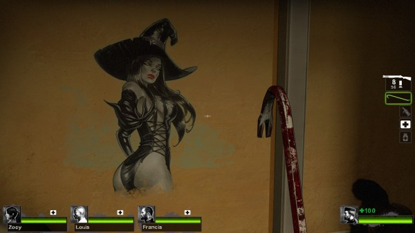 L4d2 Witch - Year of Clean Water