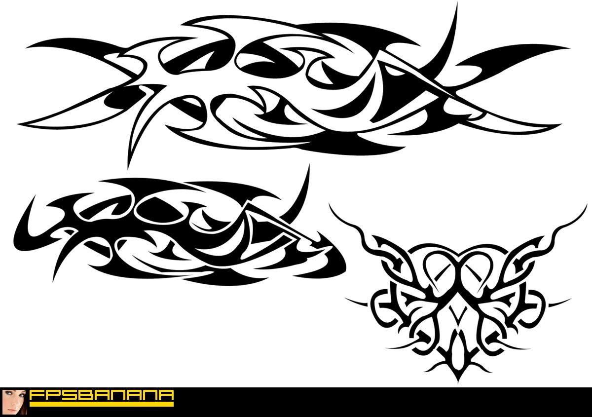 Tribal Brushes (GameBanana > Tools > Texturing, Painting