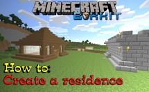 Make Residence Bukkit Plugin