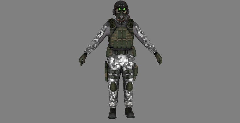 H.E.C.U soldiers for Half Life 2 [Half-Life 2] [Works In