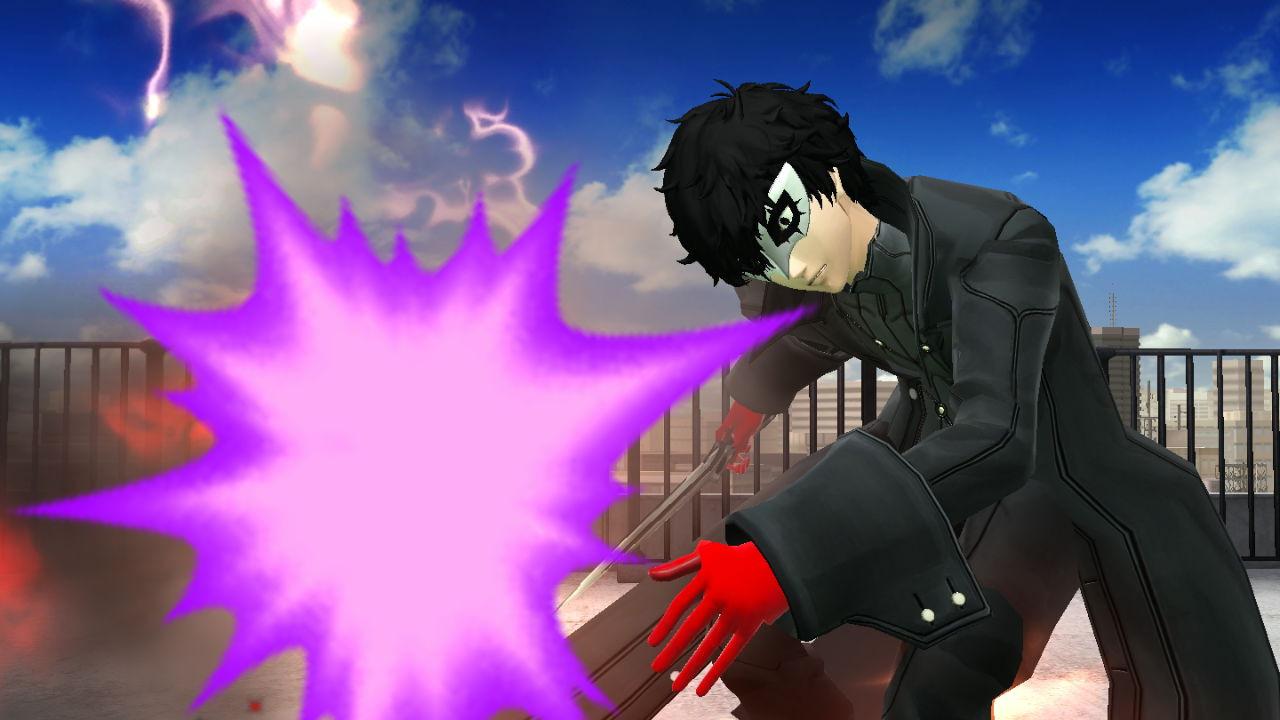 Joker Persona 5 Super Smash Bros Wii U Works In