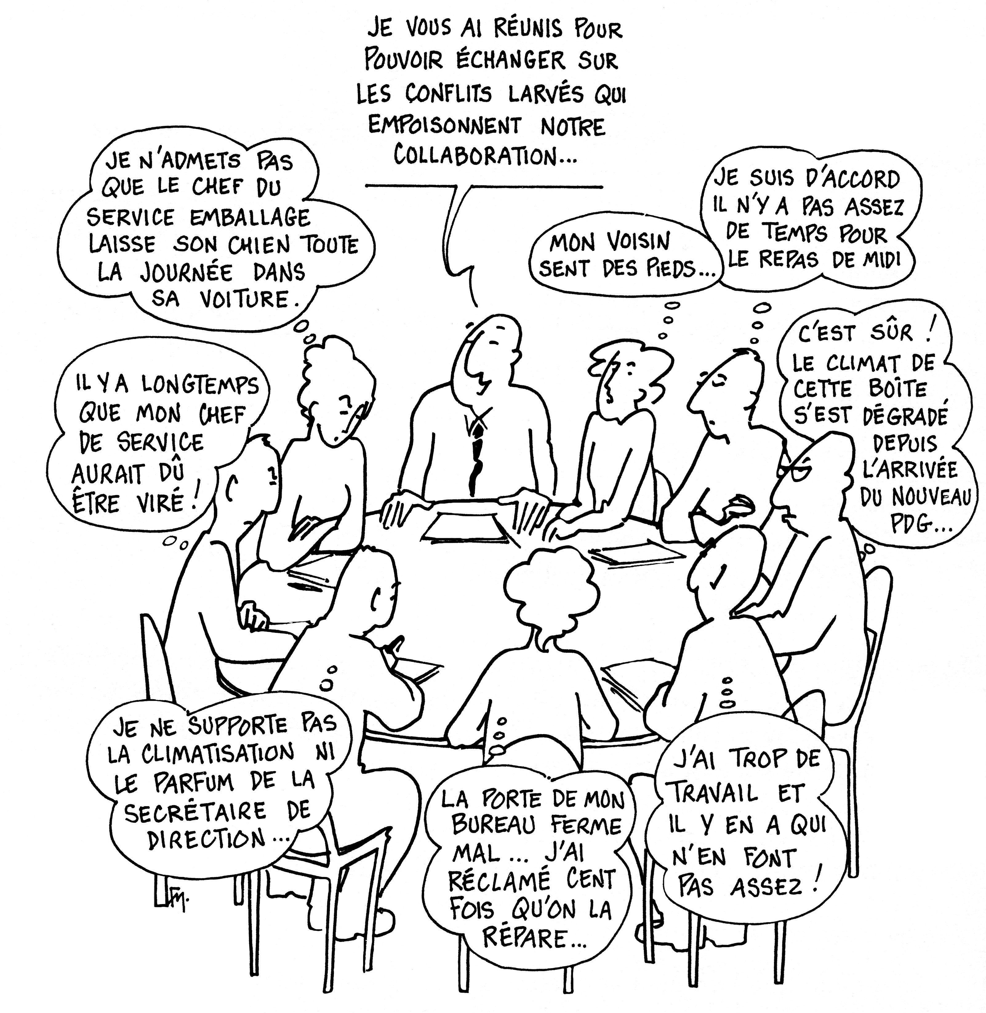 Communication Interpersonnelle Au Travail Gestion Des