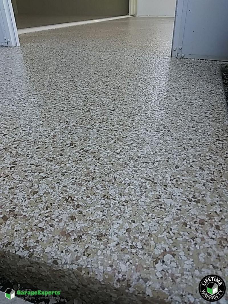 residential garage epoxy flooring in melbourne fl garage experts of brevard