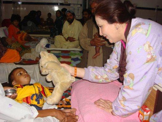 Medical Treatment for 100 Burn Children