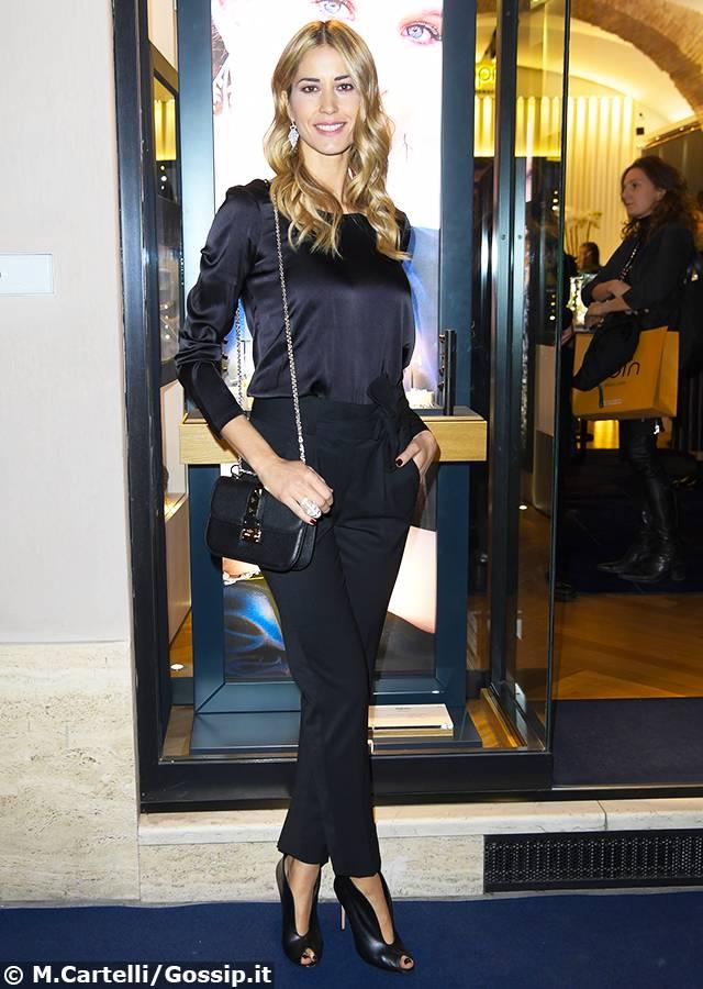 Elena Santarelli Ilaria Spada And Co Al Cocktail Event