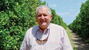 2016 Florida Grower Citrus Achievement Award winner Marty McKenna