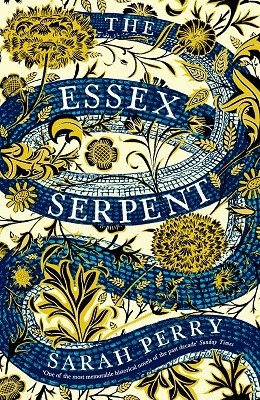 Enter for a Chance to Win a Blue & Gold Special Edition of The Essex Serpent by Sarah Perry