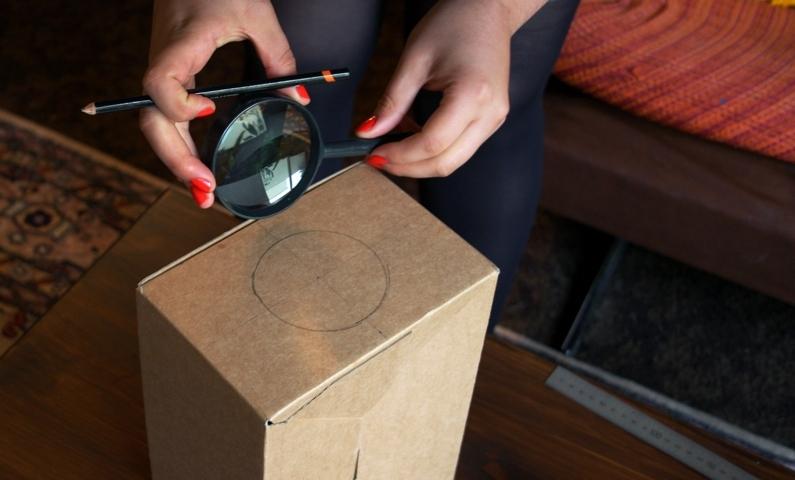 Upcycling Mit diesem Tricks kannst du mit einem Karton