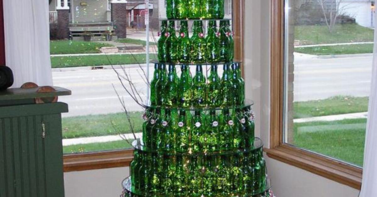 Weihnachtsbaum mal anders Lustige Ideen fr die