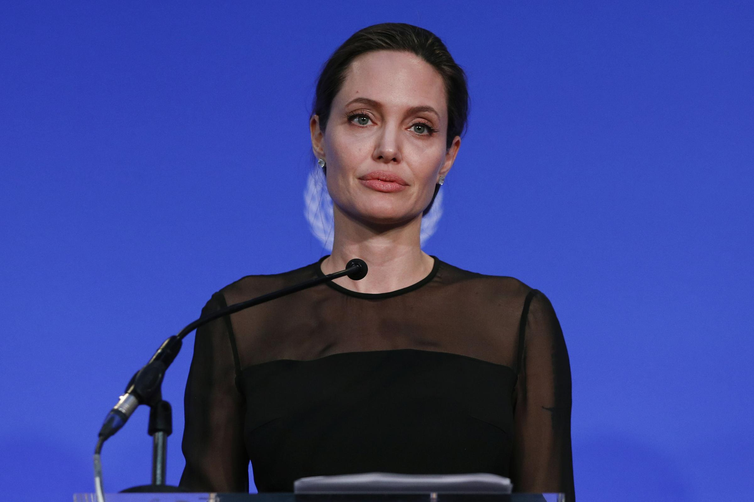 HeraldScotland: Angelina Jolie  Angelina Jolie BRCA cancer gene test 'should be offered to patients with a five per cent family history risk' of the disease 6961745