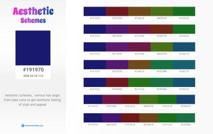 191970 Aesthetic Color Schemes