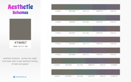 746f67 Aesthetic Color Schemes