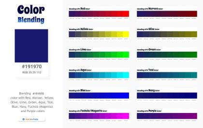 191970 Color Blending / Mixing