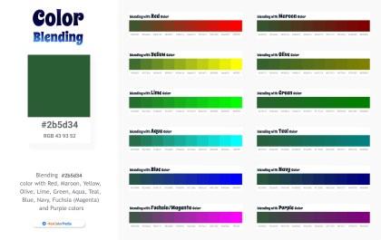 2b5d34 Color Blending / Mixing
