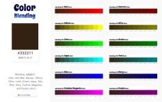332211 Color Blending / Mixing