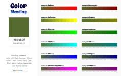 556b2f Color Blending / Mixing