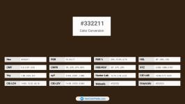 332211 Color Conversion